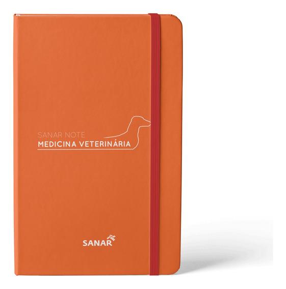Livro Sanar Note - Medicina Veterinária Te Ajuda Na Prática