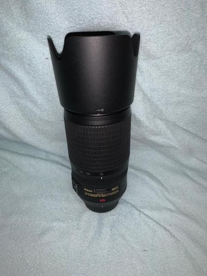 Lente Nikon Af-s Nikkor 70-300mm F/4-5.6g Ed Fx