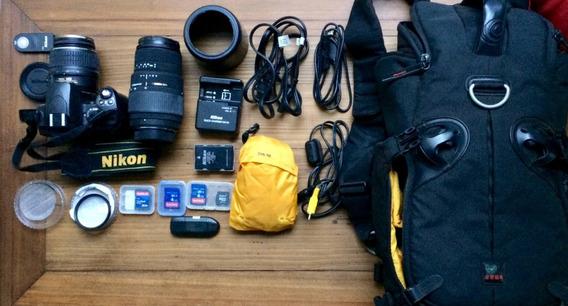 Kit Completo Para Fotografia Semi-profissional Nikon D40