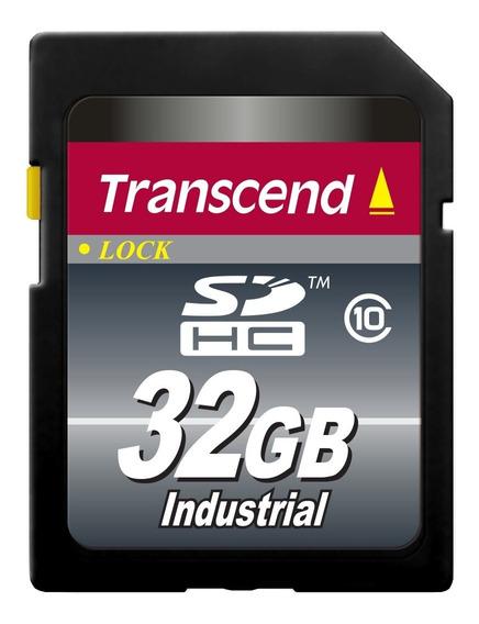 Cartão De Memória Sd Transcend 32gb Industrial Ts32gsdhc10i