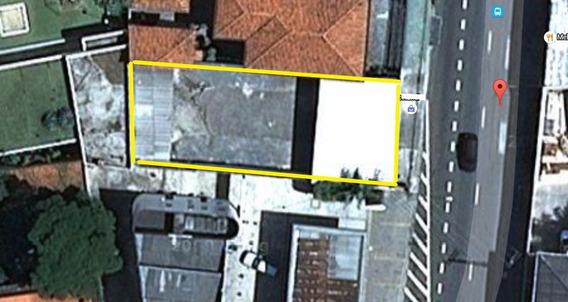 Excelente Opção - Terreno De 331 Ms. Pinheiros. Ref 61891