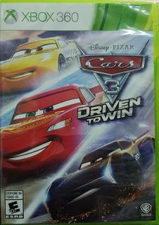 Cars 3 Drivin To Win Xbox 360 Nuevo Y Sellado