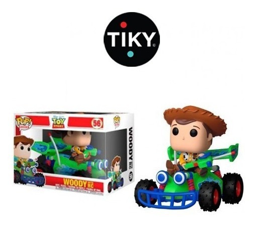 Funko Pop Woody With Rc De Toy Story Original Rides