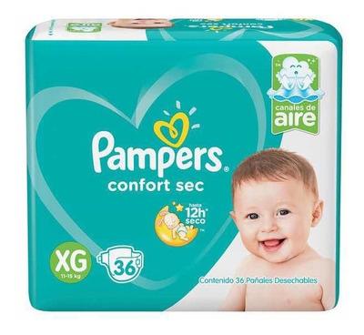 Pañales Pampers Conforsec Xxg/xg