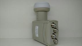 * 2 Uni Lnb Original Sharp 4 Saidas Sn:004520 Universal Ku
