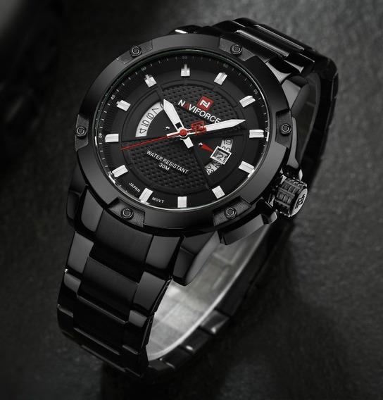 Relógio Masculino Esportivo Naviforce Nf9085 Original