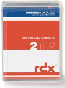 Cartucho De Disco Removivel Para Backup Rdx 2tb Tandberg