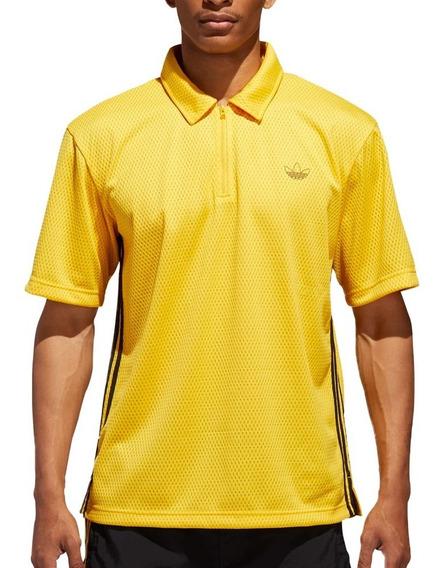 Playera Atletica Originals Mesh Polo Hombre adidas Dv3159