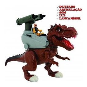 Dinossauro Rex Attack Lança Míssil - Adijomar