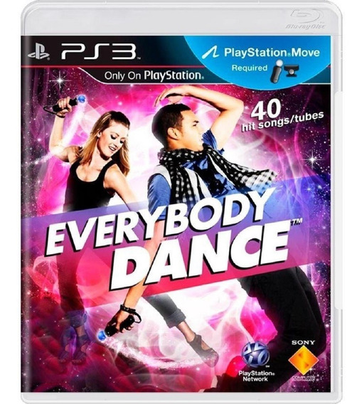 Jogo Sony Ps3 Everybody Dance Lacrado Necessario Uso Move