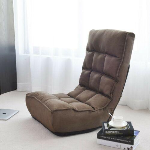 Salón Ajustable 4 Posiciones Lazy Sofa Cama Piso Interi-8210