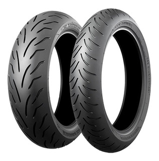 Llanta Bridgestone 110/90-12 64l Battlax Sc Moteros