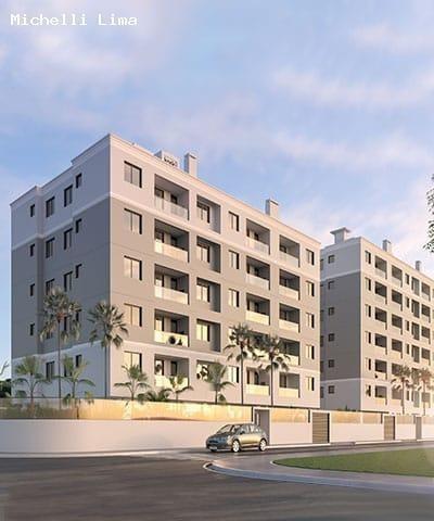 Apartamento Para Venda Em Palhoça, Aririu, 2 Dormitórios, 1 Banheiro, 1 Vaga - Ml29_1-1446310