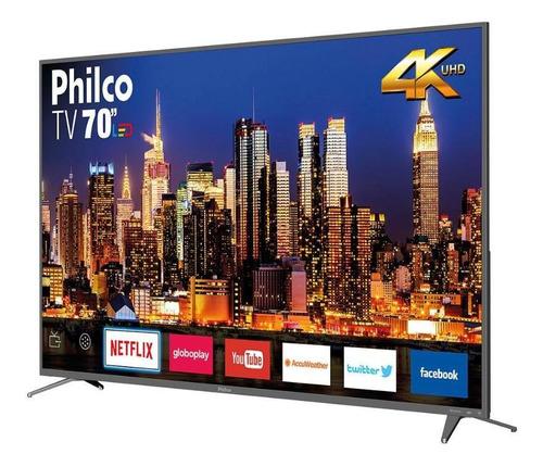 Smart Tv Philco 70  Ptv70q50snsg 4k Led - Netflix Bivolt