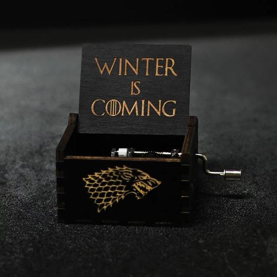 Caixinha De Musica Game Of Thrones Modelo Original Geek Got