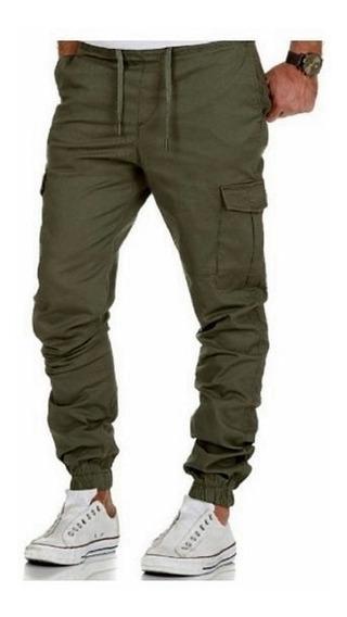 Pantalones Jogger Cargo Del 38 Al 48 De Gabardina Rigida