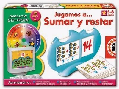 Jugamos A Sumar Y Restar (5-6 Años) (envío Digital)