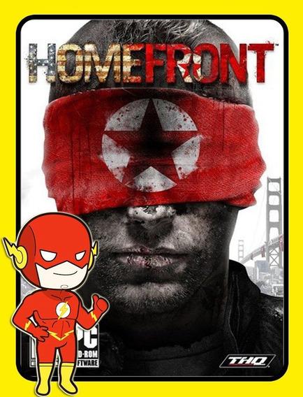 Homefront Pc - Steam Key (envio Flash)