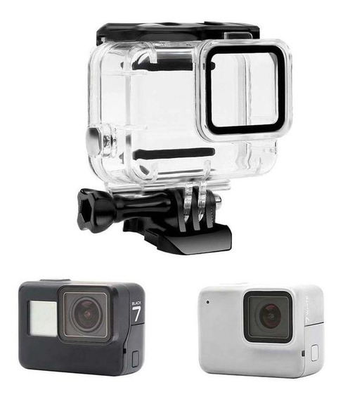 Caixa Estanque Housing Skeleton Gopro Hero 7 White/silver