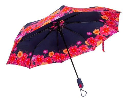 Paraguas Flores Azules