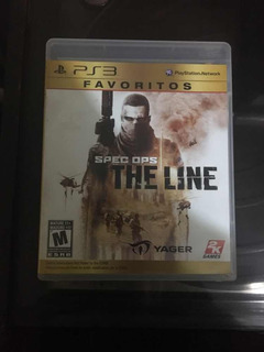 Spec Ops The Line - Ps3 (físico)