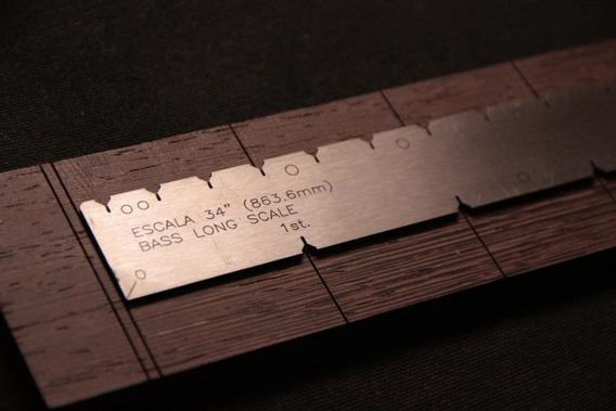 Regla De Escala Dual Multifunción - No Stewmac Luthier