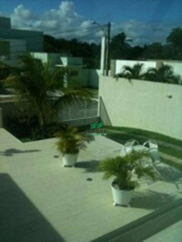 Casa Com 4 Dormitórios À Venda, 370 M² Por R$ 900.000,00 - Estrada Do Coco - Lauro De Freitas/ba - Ca0345