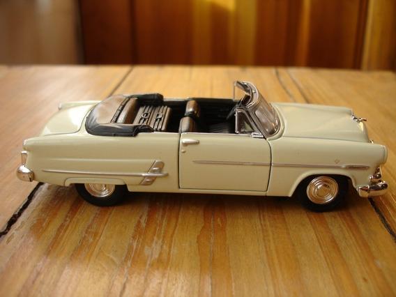 Ford Crestline Sunliner 1953 Escala 1/38 Autos De Coleccion