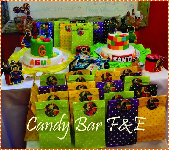 Candy Bar Todos Los Personajes!! Golosinas Personalizadas!!