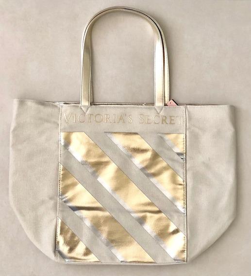 Bolsa Feminina Victoria`s Secret Grande Sem Ziper Original