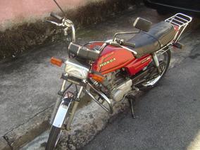 Moto Honda 125 Cc Modelo Ml Ano 1983 Raridade