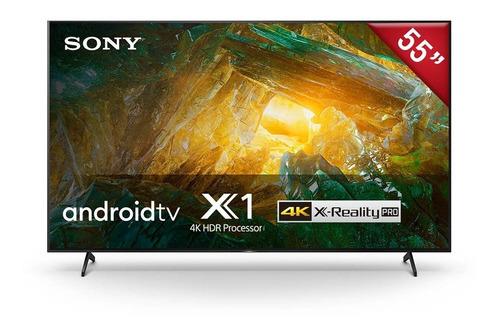 Imagen 1 de 7 de Led Smart Tv Sony 55  Xbr-55x805h Android 4k Uhd