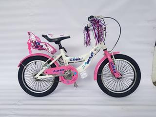 Bicicleta Infantil Niña Mao Lola Rodado 16
