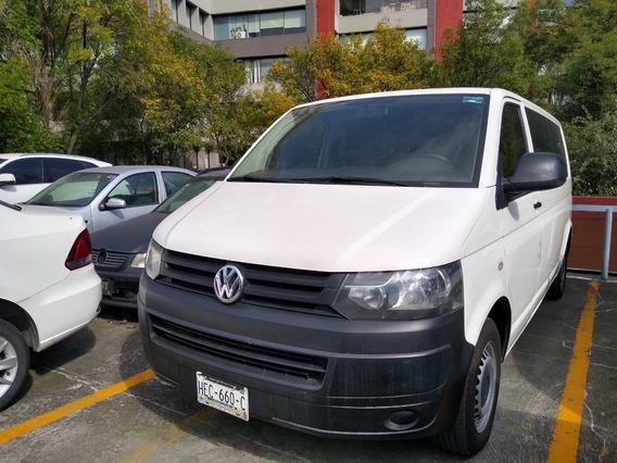 Transporter 7 Pasajeros Tdi Std Blanca 2014