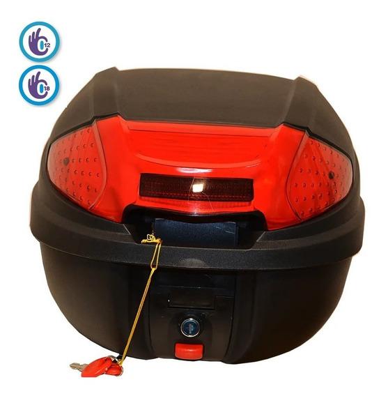 Baul Porta Casco 30 Litros Trasero Calidad 19 Full Fas Motos