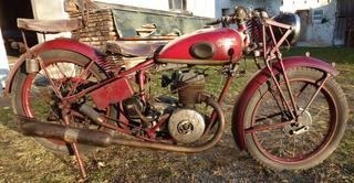 Moto Alemã 1939 Única No Brasil