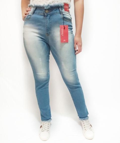 5 Calças Jeans Feminina Tamanho E Modelos Variados 36ao46