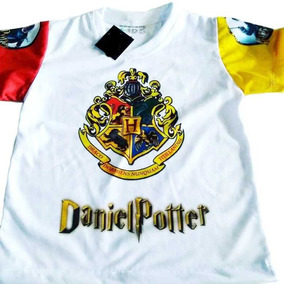 Camiseta Infantil Harry Potter Personalizada Temas