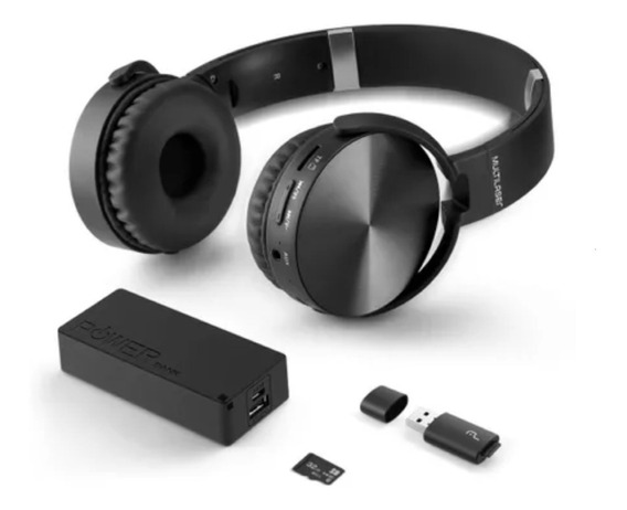 Headphone Bluetooth Musica Play Sd/aux/fm Mc250