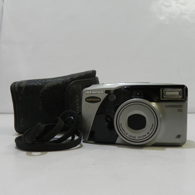 Câmera Olympus Superzoom 115 Af Quartzdate Usada C/ Defeito