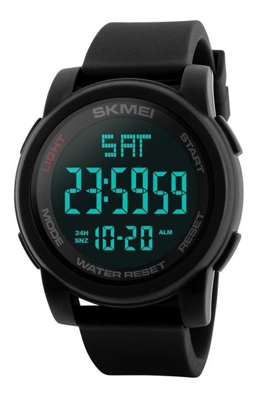 Relógio Masculino Skmei Esportivo Prova D´àgua 1257 Preto