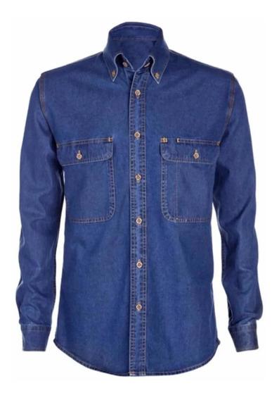 Camisa O Blusa Jean Dotación Empresarial.