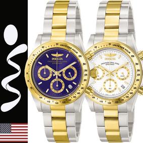 Reloj Invicta 9212/3644 Speedway Cronografo Acero Original