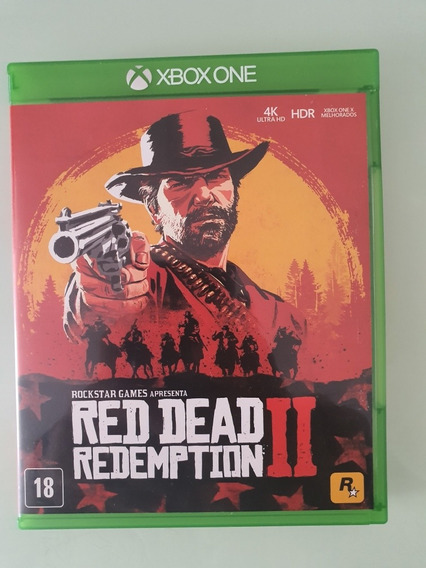 Jogo Red Dead Redemption 2 Xbox One Mídia Física