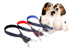 Cinto De Segurança Para Cães Ajustável Pet Cachorro Carro