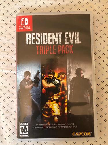 Resident Evil 4 Nintendo Switch Ojo Solo Es El 4