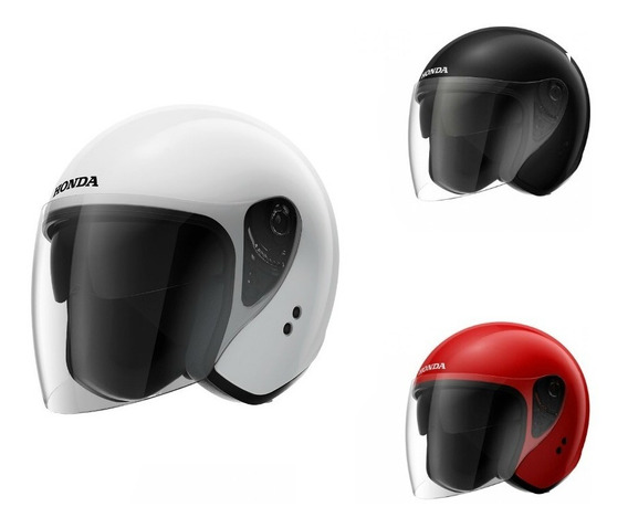 Capacete Moto Honda Aberto Hjs - Diversas Cores