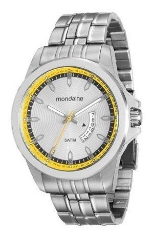 Relógio Mondaine Prata Visor Prata 78723 G0mvna1