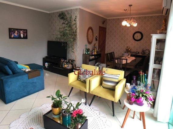 Apartamento À Venda, 120 M² Por R$ 380.000,00 - Jardim Casqueiro - Cubatão/sp - Ap0426
