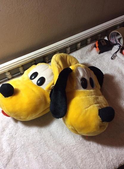 Pelucias Chinelo Pluto Antigo
